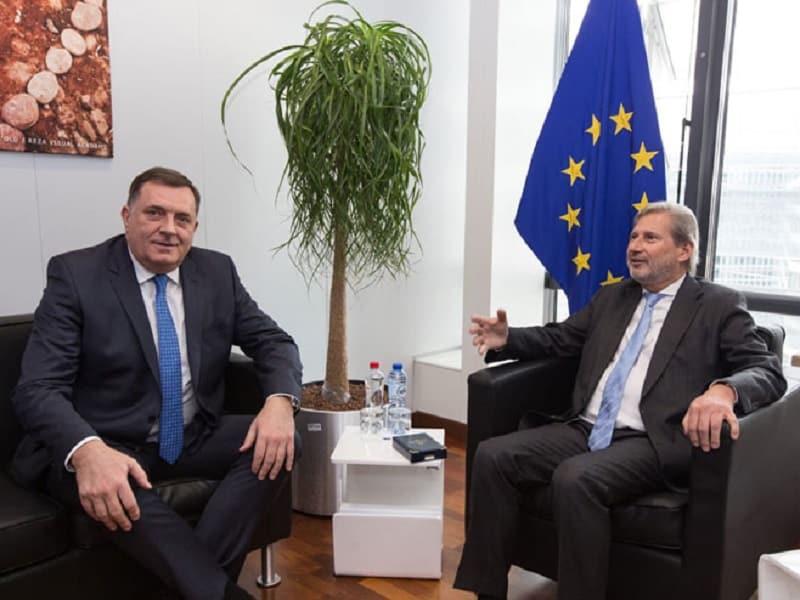Dodik sa Hanom u Briselu
