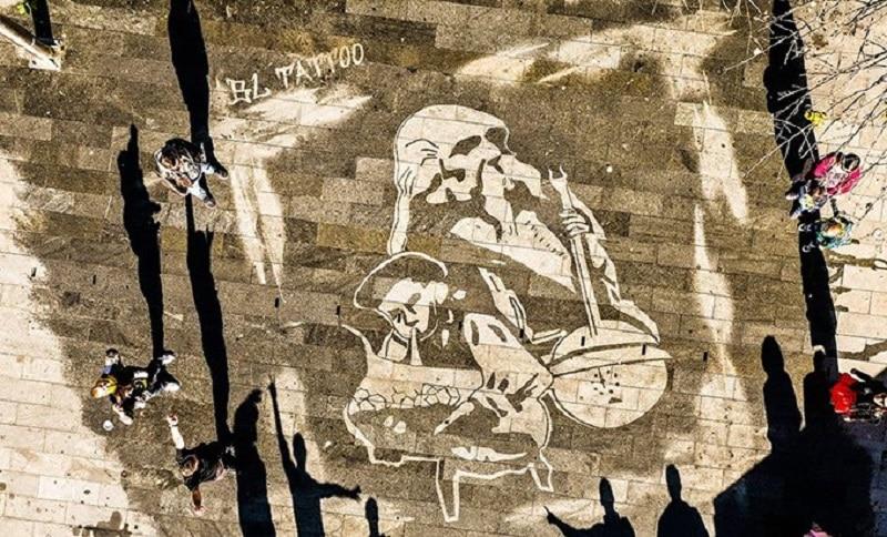 Banjaluka ukrašena umjetničkim djelima koja se vide samo kad pada kiša