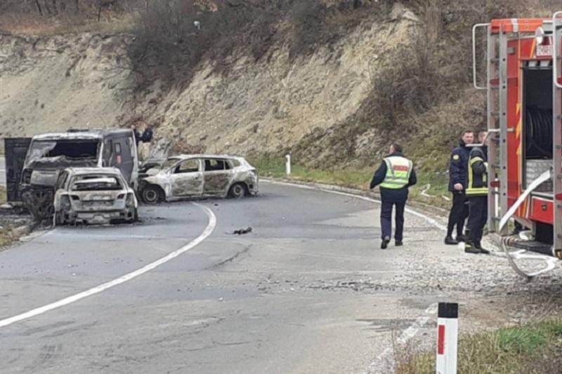 Opljačkano vozilo za prevoz novca, troje povrijeđenih