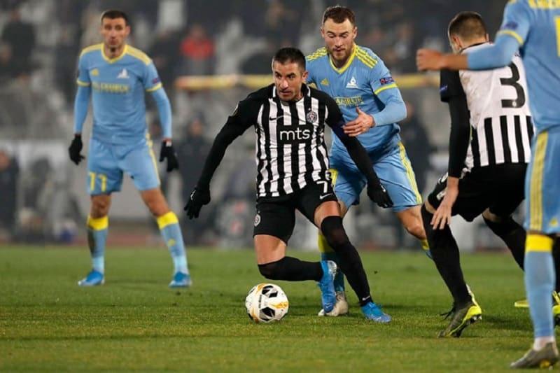 Partizan se goleadom oprostio od Evrope