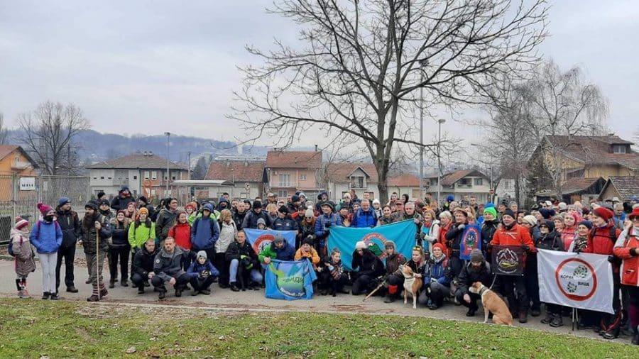 Tradicionalna zimska transverzala okupila 200 planinara i rekreativaca