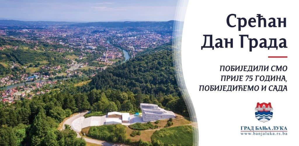 Banja Luka obilježava Dan grada