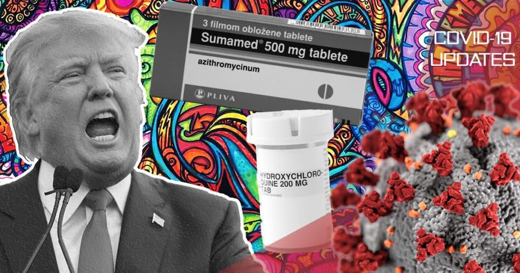 Testiranje lijekova za malariju protiv Kovida-19
