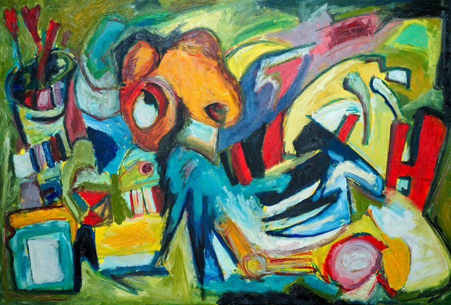 """Otvaranje izložbe """"Umjetnik kao mitolog"""" u Kamenoj kući na Kastelu"""