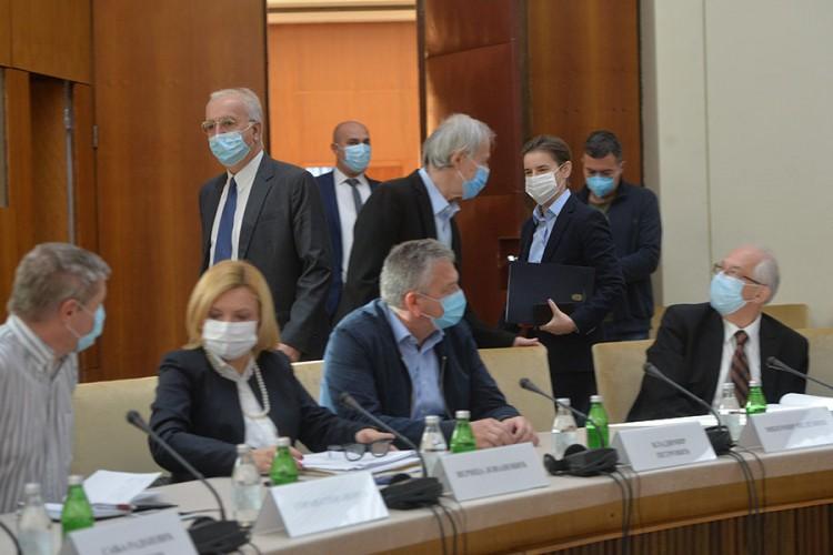 Završena sjednica Kriznog štaba Srbije – nema novih mjera