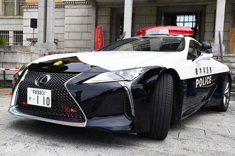 Lexus LC 500 za japansku policiju