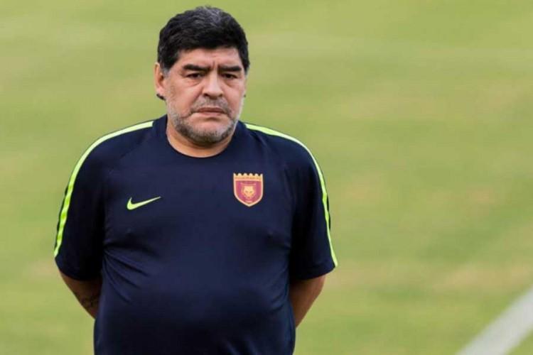 Dijego Maradona u samoizolaciji