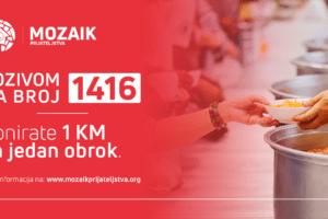 """Humanitarna akcija """"Mozaika prijateljstva"""": Planiraju da prikupe 30.000 hljebova"""