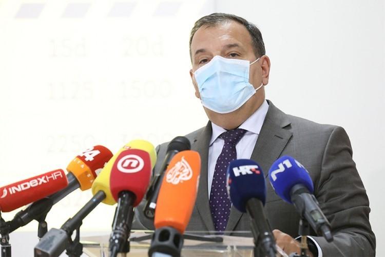 Hrvatski ministar zdravlja pozitivan na korona virus