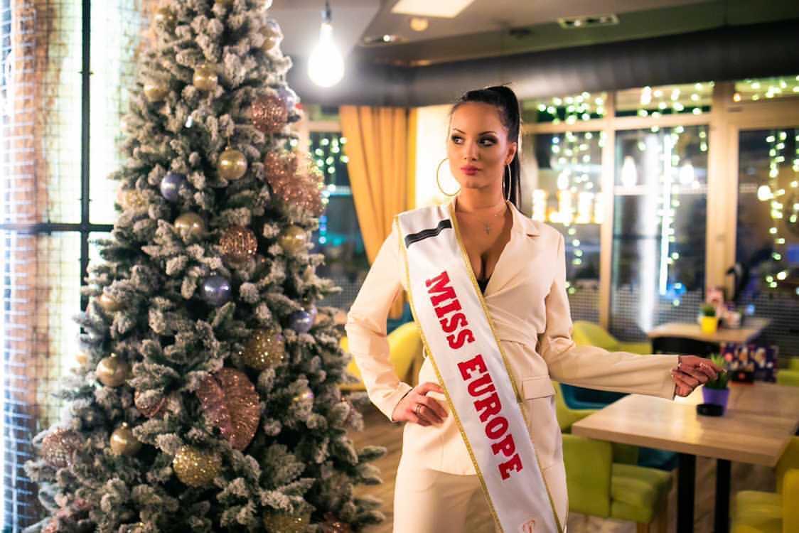 ISIDORA BOGDANOVIĆ Proglašena Za Najljepšu Ženu Evrope Miss Europe 2020