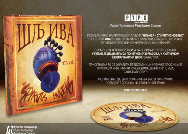 """Etno grupa """"Iva"""" promovisala novi album """"ŠljIva"""""""