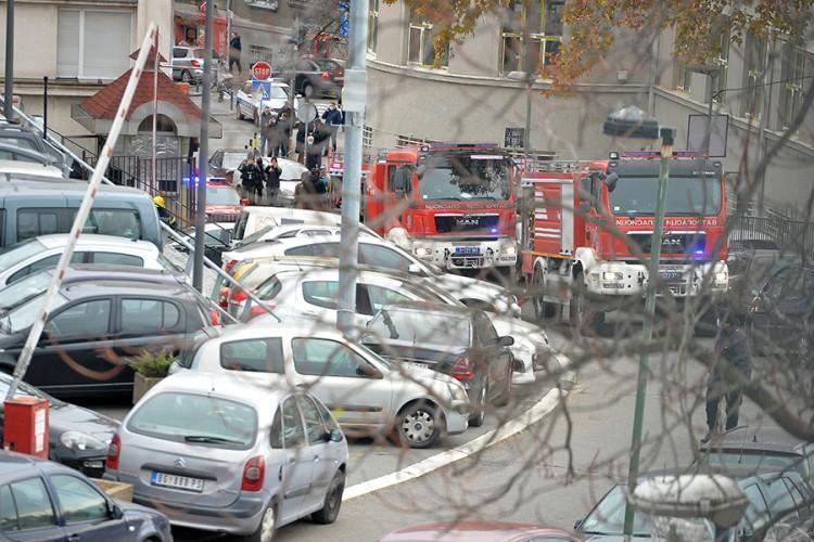 Snažna eksplozija u centru Beograda, jedna osoba poginula