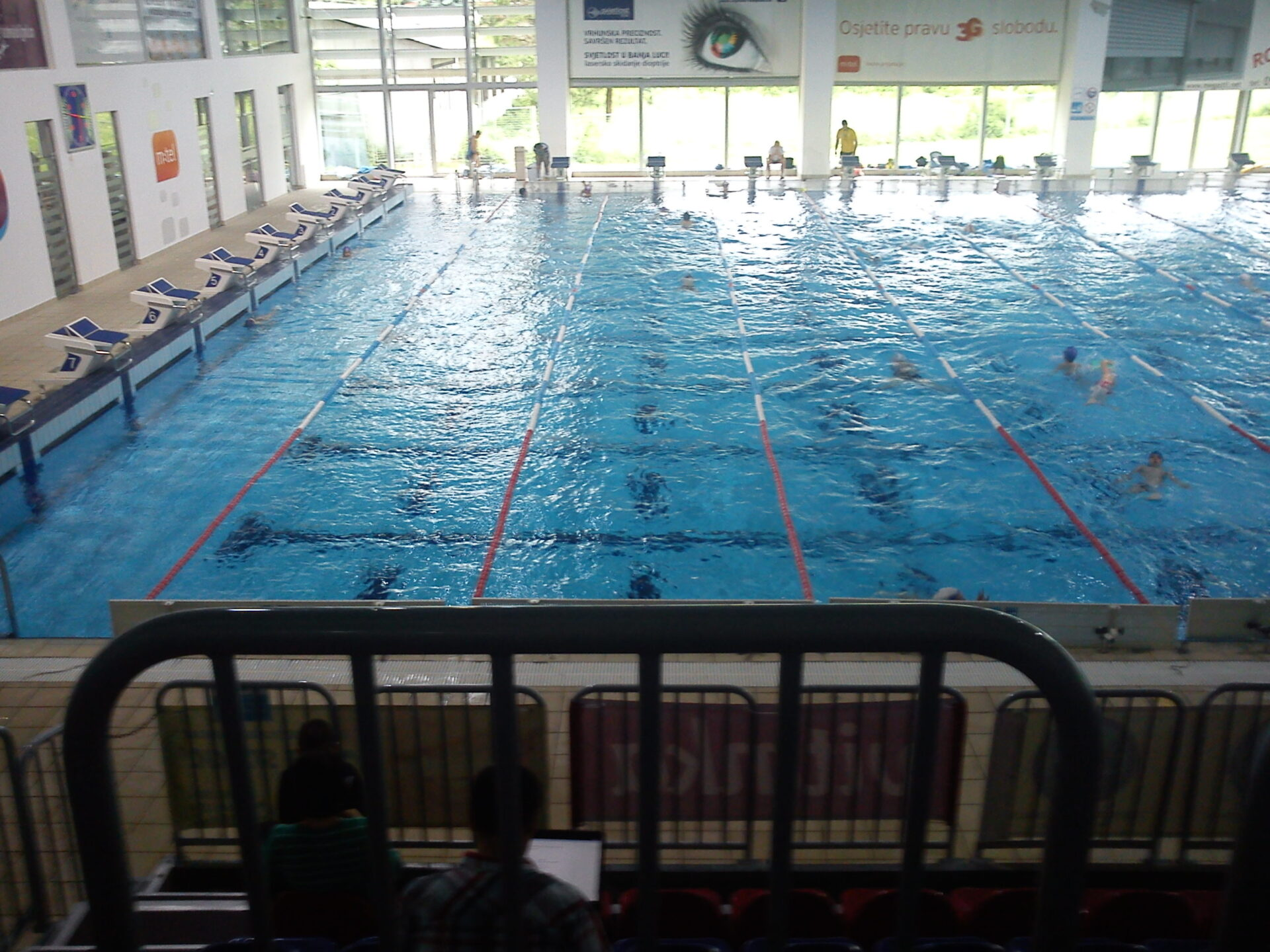 Gradski olimpijski bazen otvoren samo za sportiste