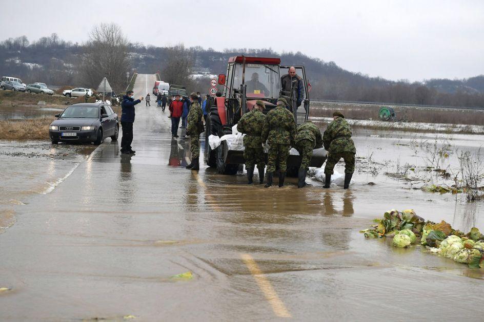 Voda se povlači, stanje na jugu Srbije se normalizuje