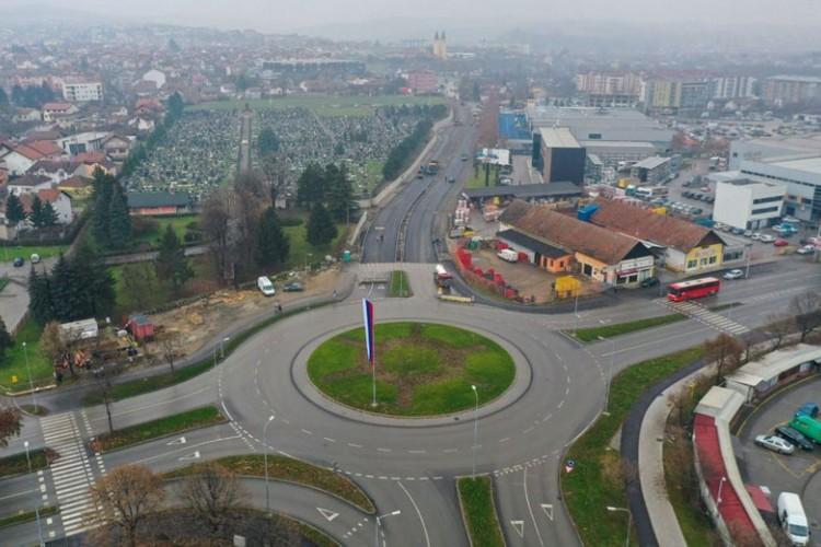 Privremene obustave saobraćaja u ulici Ivana Gorana Kovačića zbog nastavka radova