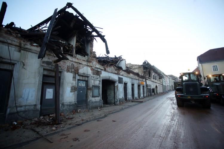 Gradonačelnik Gline: Svaki novi potres pravi novu štetu