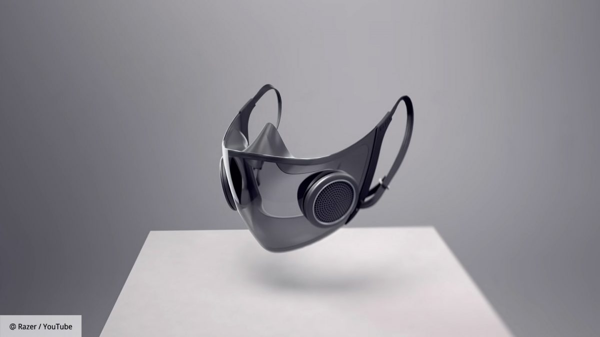 """Rejzer predstavio """"pametnu"""" zaštitnu masku: Ima ventilatore i pojačava glas"""