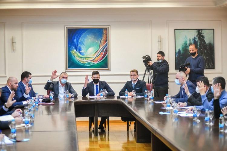 Vanredna sjednica Skupštine grada Banjaluka 3. februara