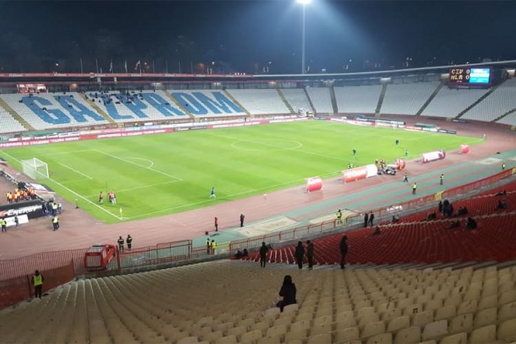 UEFA odobrila 30 odsto kapaciteta stadiona na meču Crvena zvezda-Milan
