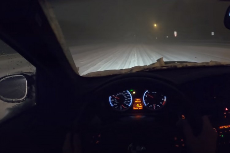 Kako se BMW M3 ponaša na snijegu?