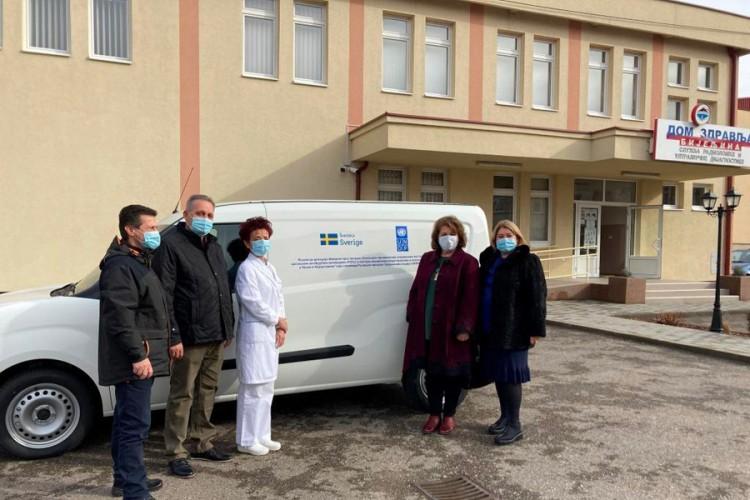 Specijalno vozilo i tunel za dezinfenciju uručeni Domu zdravlja Bijeljina