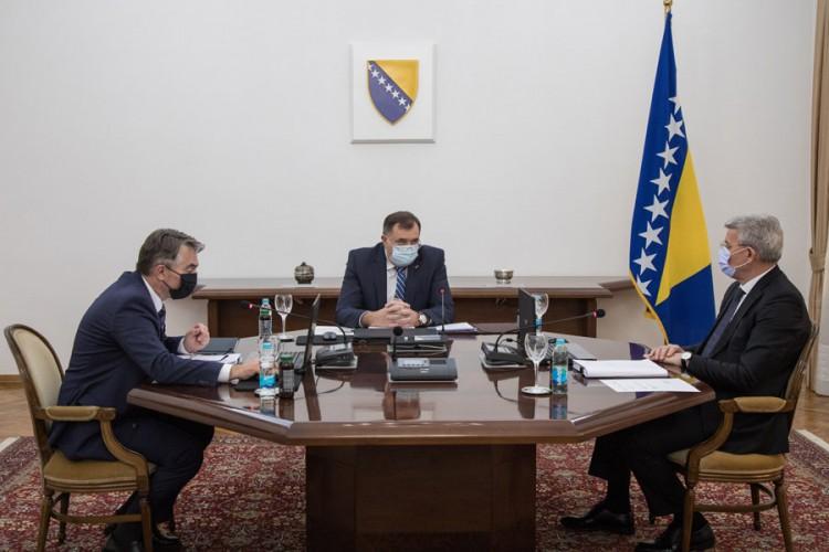 Predsjedništvo BiH nije utvrdilo budžet