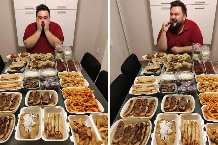 Žak Houdek proslavio rođendan uz obilje hrane