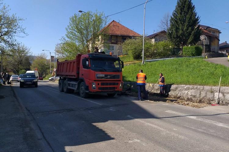 Počela sanacija magistralnog puta Banjaluka-Srpske Toplice