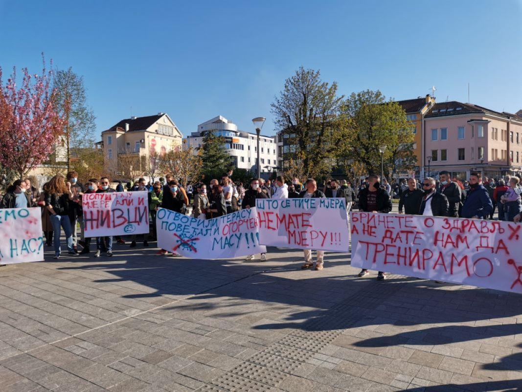 Prijava protiv organizatora protesta u Banjaluci zbog nepoštivanja mjera