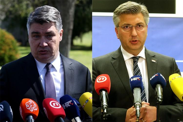"""Milanović i Plenković opet u """"klinču"""", sada zbog Borovog sela"""