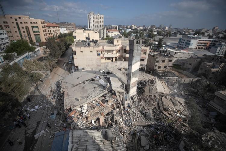 U Gazi uništena jedina laboratorija za testiranje na virus korona