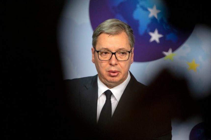 Vučić stigao u Brisel, sutra nova runda pregovora