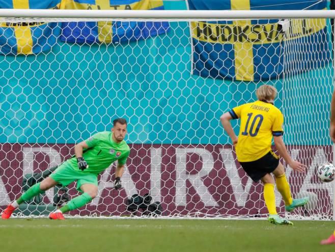 Švedska sa penala savladala Slovačku