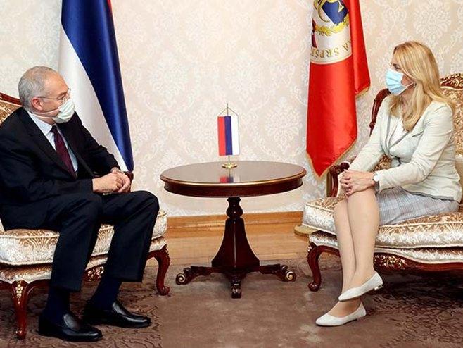 Cvijanović-Girgin: Јačati ekonomske veze