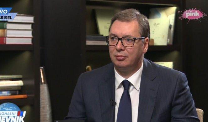 DA MI ZAVRĆU RUKU ILI VRAT, NIKADA NEĆU PRIZNATI NEZAVISNOST KOSOVA! Vučić iz Brisela: Ne očekujem ništa od Kurtija, više me zanima šta će reći evropski predstavnici!