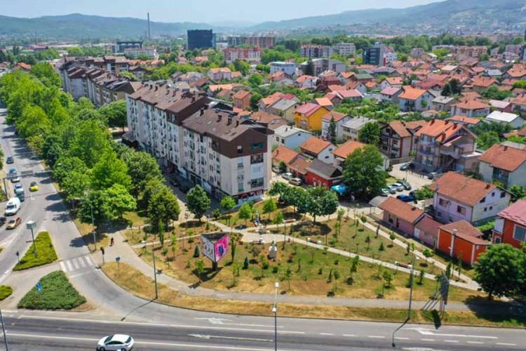 Stanivuković otvorio park koji je izgradila njegova porodica (FOTO)