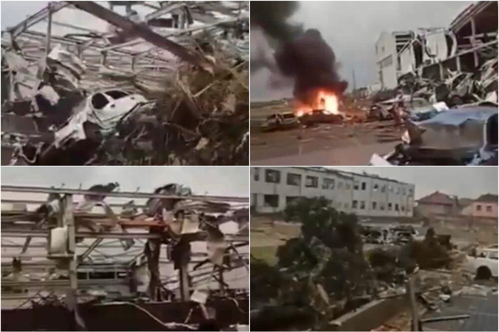 Auta padala na kuće: Tornado u Češkoj iza sebe ostavio pustoš (VIDEO)