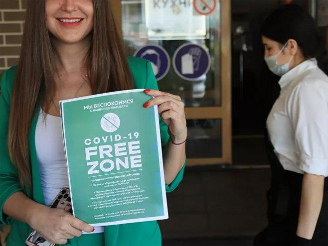 Moskva: U kafiće mogu samo vakcinisani