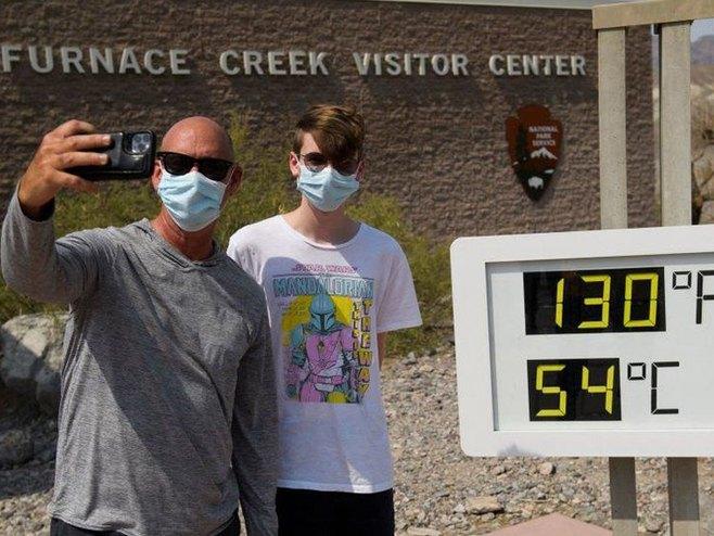 Rekordno visoke temperature šire se jugozapadom SAD